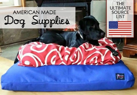 Dog Supplies made in USA  American made dog supplies