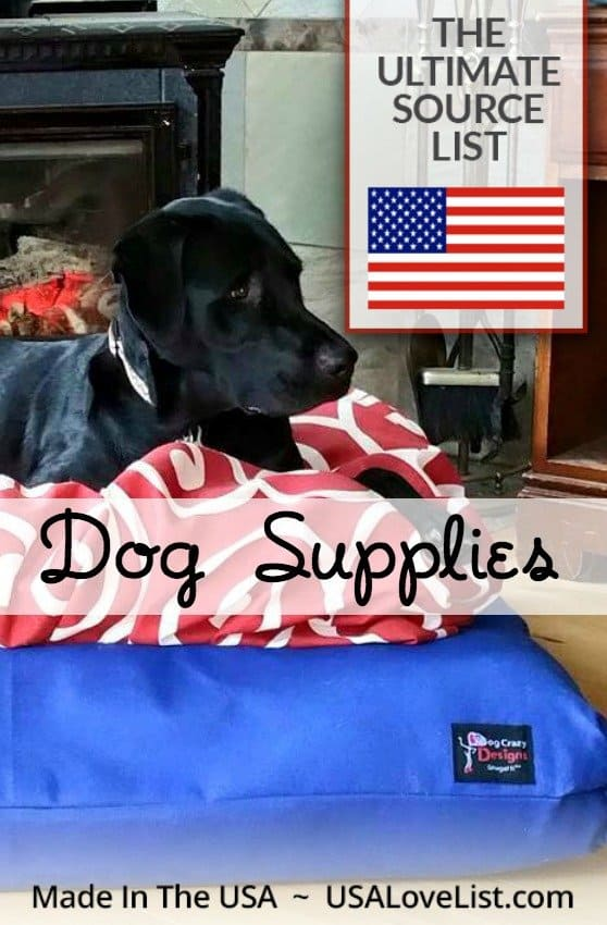 Made in the USA Dog Supplies