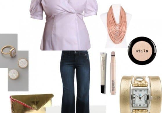 Fashion Tips For Accessorizing With Gold via USALoveList.com