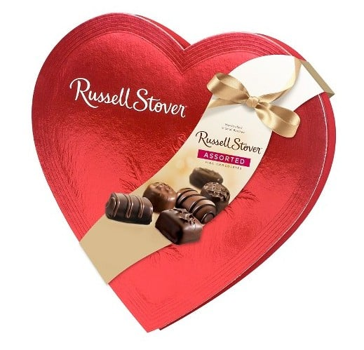 Valentine Candy: Russell Stover candy #usalovelisted #valentinesday #madeinUSA