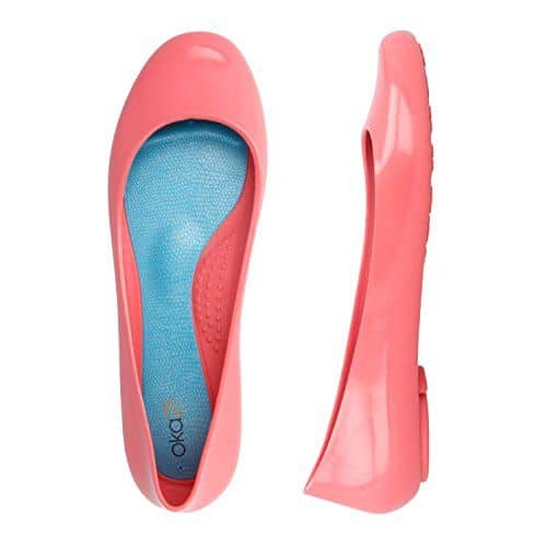 American Made Shoes From OkaB Bright Colored Flats via USALoveList.com