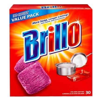 Brillo steel wool soap pads | Made in Ohio | Made in USA for over 100 years #usalovelisted