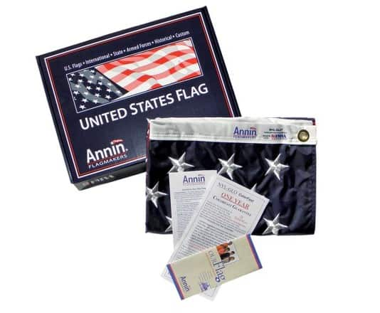 Annin Flagmakers | Oldest manufacturer of flags in the USA | American flags made in Ohio #usalovelisted