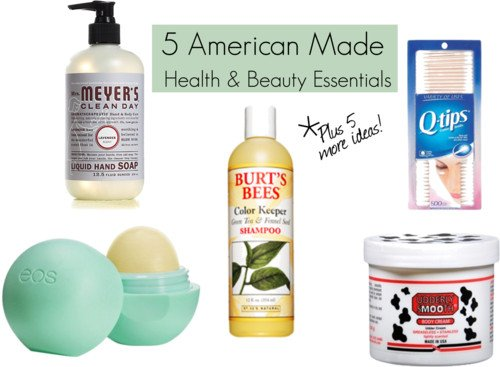 American Made Beauty Gifts and Tips From USALoveList.com