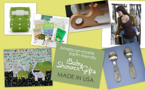 Love these Earth-Friendly Baby Shower Gifts! 6 Green Gift Ideas, All Made in America