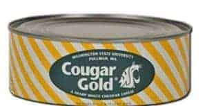 Cougar Gold cheese in a can #madeinusa