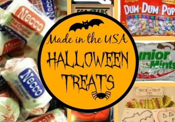 #madeinUSA Halloween Treats