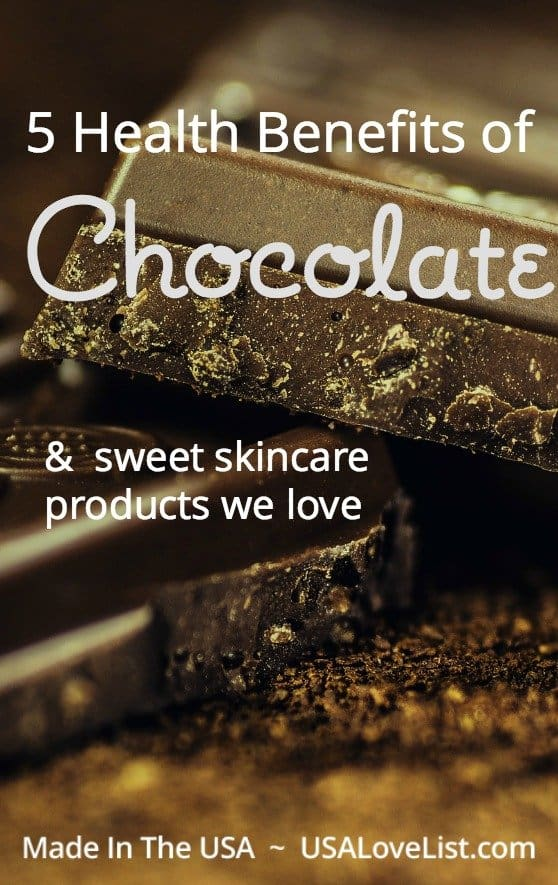 Health benefits of chocolate sweet skincare products we love vegan, organic, natural, skincare products