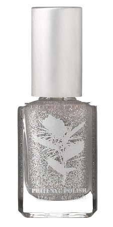 Priti NYC Silver Comet - Vegan Nail Polish without Toxins