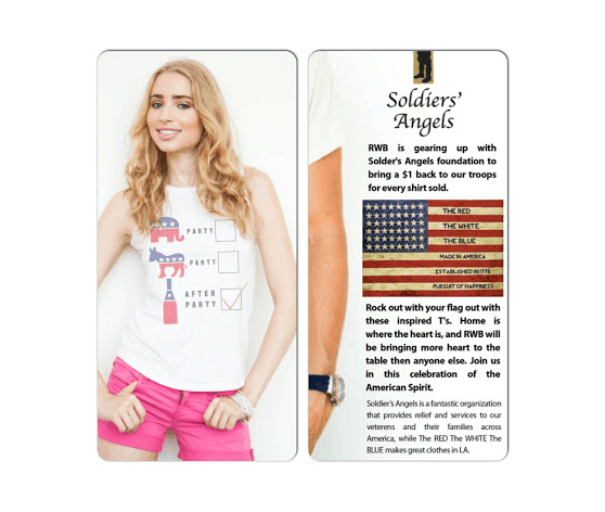 Election Fun with The Red The White The Blue {Made in USA Monday Fashion}