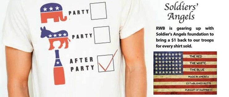 Democrat? Republican? Election Time is Finally Here. Let's Party. {Made in USA Giveaway}