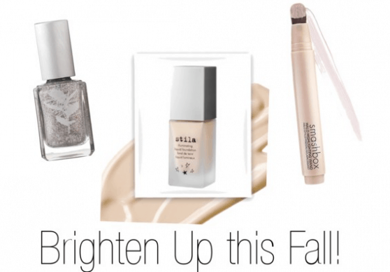 Three Made in USA Makeup products to add a little glisten and glow back into your day.