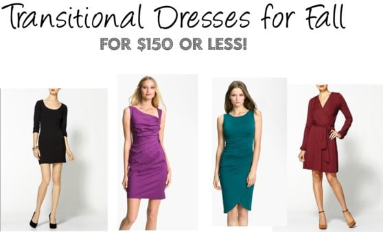 American-made Fashion: Transitional Dresses for Fall for $150 or less