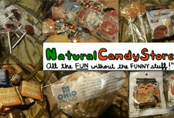 The Natural Candy Store is our new favorite source for candy made in the USA. Our Halloween Giveaway runs through 10/18.