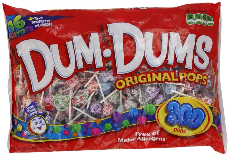 American Made Halloween Candy: Dum Dums #usalovelisted #halloween #candy