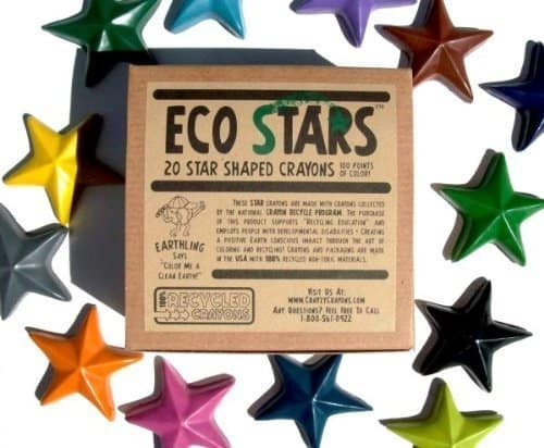 Eco Stars crayons #madeinUSA Halloween treats