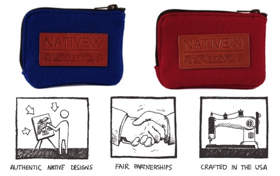 Win a wallet from Native(X), a company dedicated to supporting and showcasing the work of Native American artists.