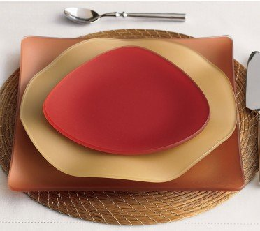 Seaglass dishes #madeinUSA fall inspiration
