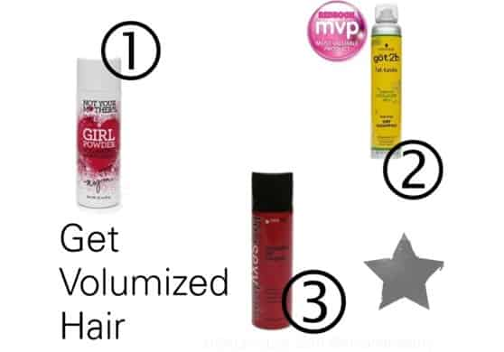How to Use Volumizers and Dry Shampoos for Full, Fabulous Holiday Hair Styles {American-made Beauty}