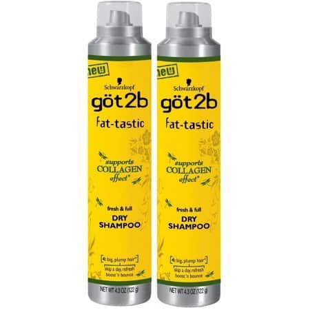 How to Use Volumizers and Dry Shampoos for Full, Fabulous Holiday Hair Styles {American-made Beauty} - göt2b fat-tastic Dry Shampoo