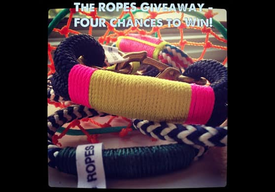 4 Readers Will Win Bracelets from The Ropes, Nautical Style Made in Maine {Giveaway}