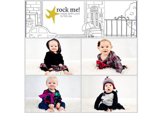 Rock Me! Easy Baby Style for a Busy Time of Year {Made in USA Monday Fashion}
