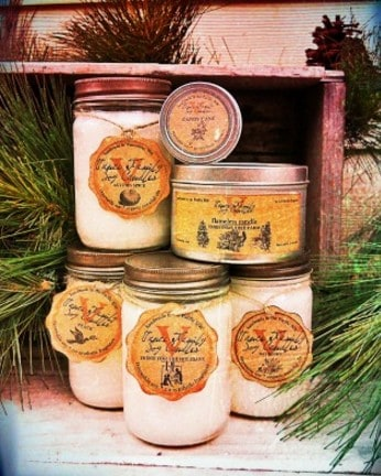 Vance Family Soy Candles | Holiday scents | Made in Washington state
