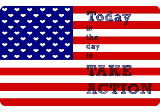 Take Action: Show Your USA Love Today – Election Day
