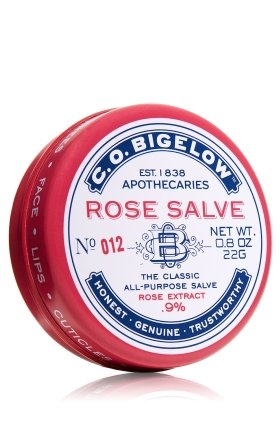 C.O. Bigelow Rose Salve - American Made STocking stuffers