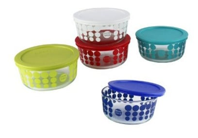 Pyrex storage containers | Made in USA | Christmas baking