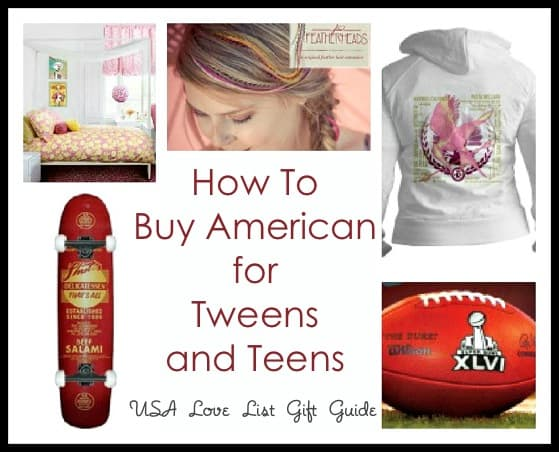 Toys For Tweens 2012 : Tweens and teens are american made gifts impossible to find