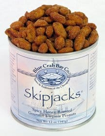 Virginia Peanuts - Skipjack Honey Roasted Peanuts via USALoveList.com