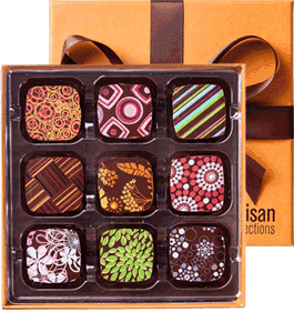 Artisan Confections - Handmade Chocolates Made in Virginia via USALoveList.com