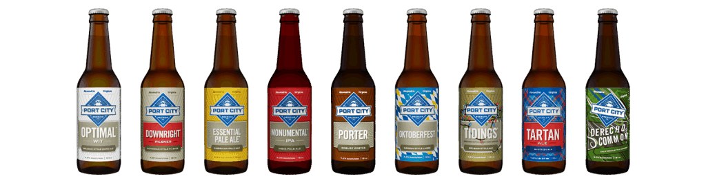 American Made Beer From Port City Brewing in Alexndria, Virginia via USALoveList.com