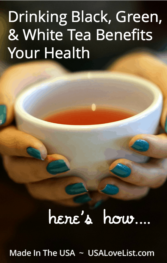 Drinking White, Green, & Black Tea Benefits Your Health | National Tea Month | Health Benefits of Tea |Tea Grown in Hawaii