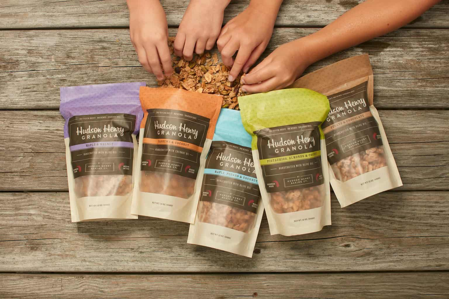 Small Batch, All-Natural Artisan Granola from Hudson Henry Baking Company - Handmade with Olive Oil - Made in Virginia