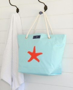 Made in Maryland Skipper Bags make the perfect beach bag, day bag ~ great gift idea!
