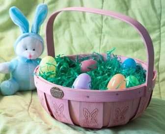 Easter Basket Ideas for Kids: Peterboro Basket Co. Easter Baskets #usalovelisted #easterbasket #easter