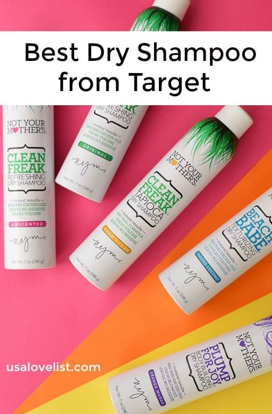 Best Dry Shampoo from Target - Made in USA Options via USA Love List