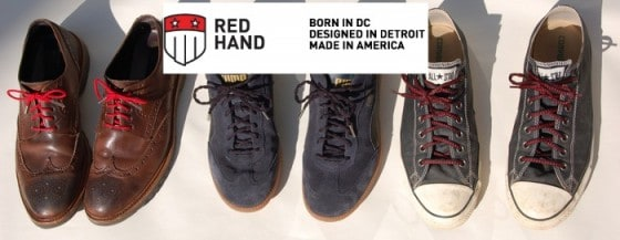 Cool Shoes – Red Hand boosts the style factor of your favorite kicks