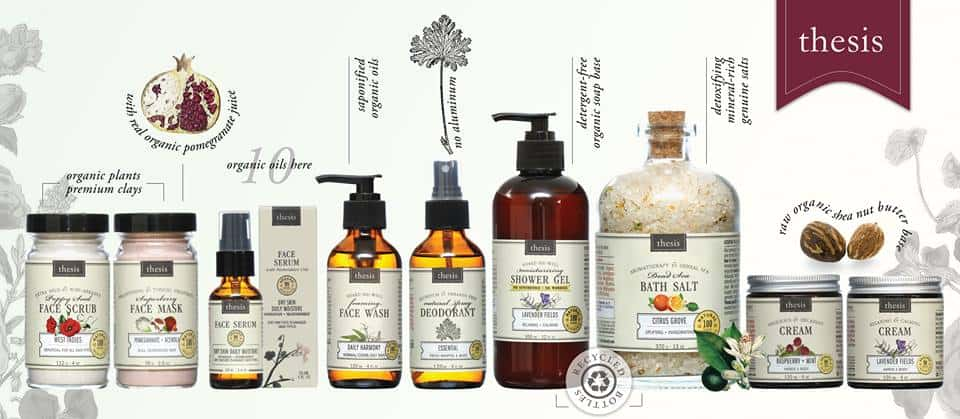 Natural And Organic Beauty Products