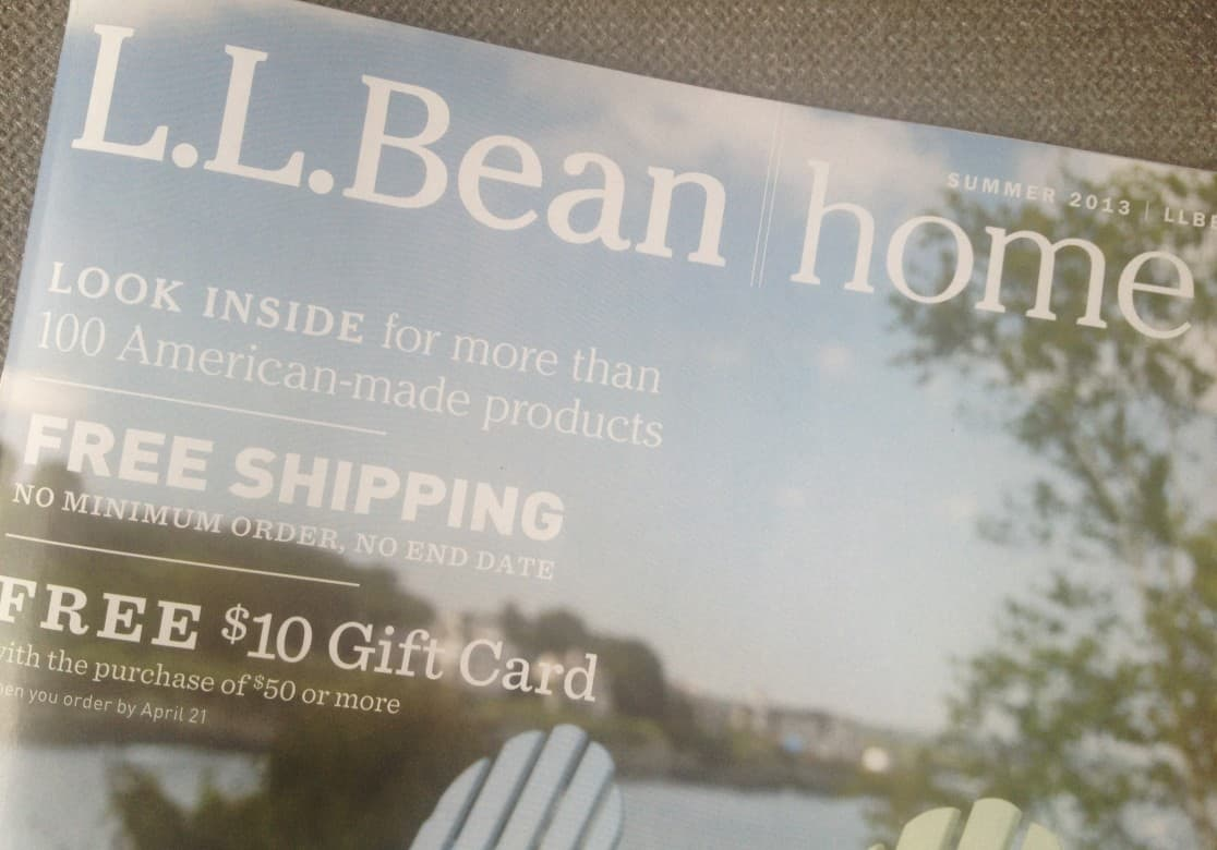 Grab the LL Bean Home Catalog for Indoor   Outdoor Furniture Made in USA. Grab the LL Bean Home Catalog for Furniture Made in USA