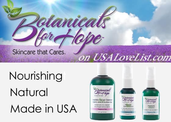 Natural Skin Care for Healing the Skin: Introducing Botanicals for Hope
