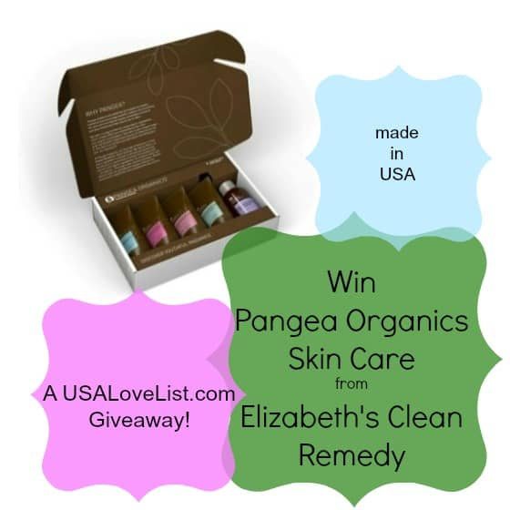 Giveaway: A Personalized Pangea Skin Care Kit from Elizabeth's Clean Remedy