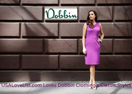 Classic Styles For Spring With Dobbin Clothing, made in NYC