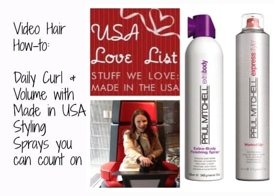 Video: How I Use My Favorite Made in USA Beauty Supplies by Paul Mitchell