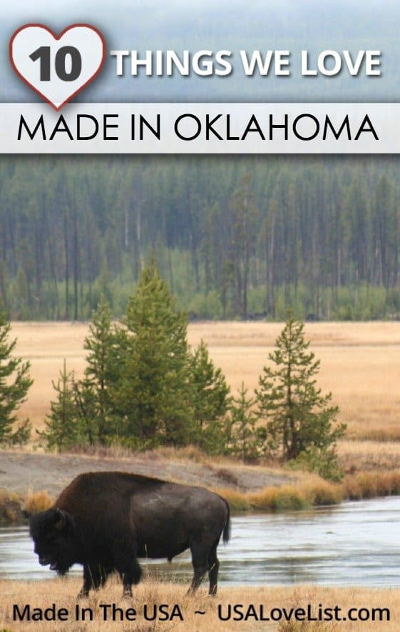 Products we love Made in Oklahoma Made in USA
