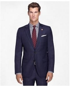 Preppy Style |Brooks Brothers suits, shirts, ties made in USA #usalovelisted #menfashion #preppy