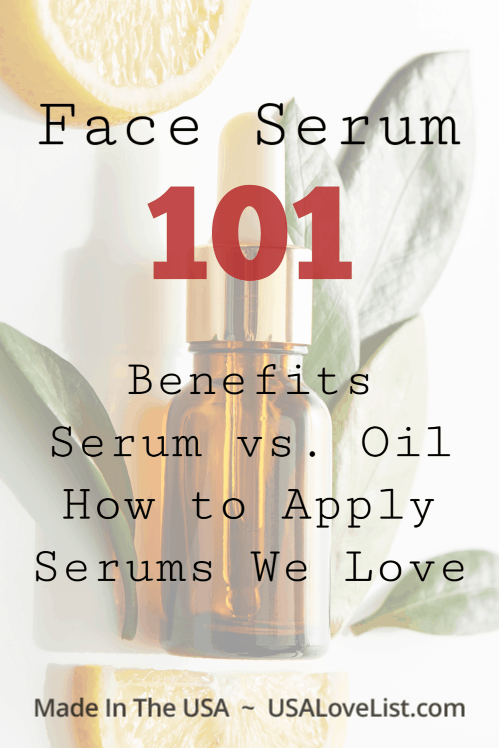 How to apply face serum #usalovelsited #serum #beautytips
