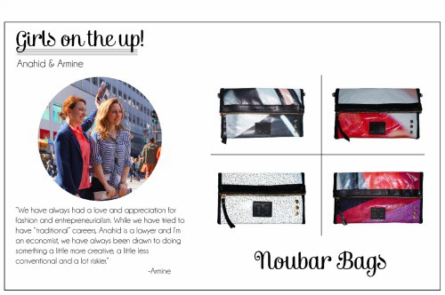 "Noubar Bags Coined The ""Nou"" Best Thing for American-made Spring Style"